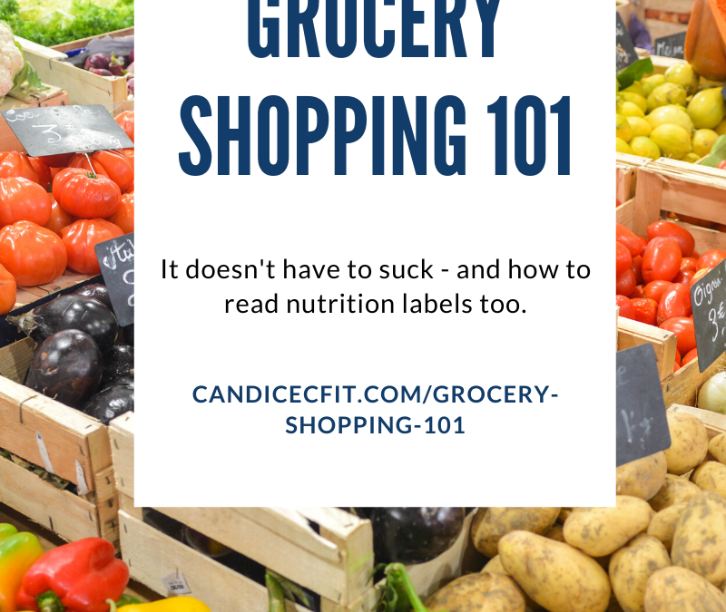 Grocery Shopping Made Easy – And How to Read Labels too!
