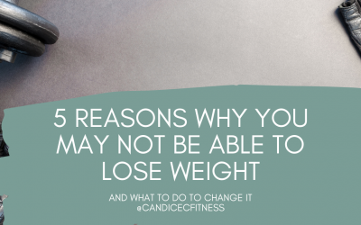 Here are Five Reasons You Are Not Losing Weight